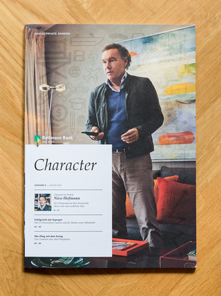 Nico Hofmann / Character Magazine Issue 8 / Bethmann Bank / Biedermann & Brandstift